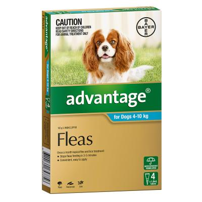 Advantage For Dogs 4-10kg 4 Pack