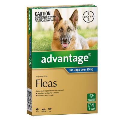 Advantage For Dogs Over 25kg 4 Pack