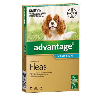 Advantage For Dogs 4-10kg 6 Pack