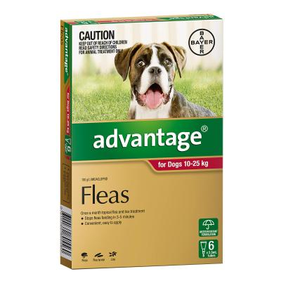 Advantage For Dogs 10-25kg 6 Pack