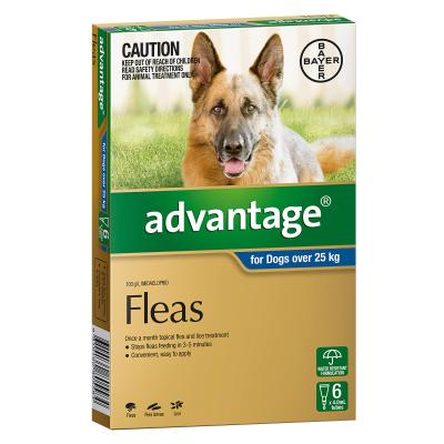 Advantage For Dogs Over 25kg 6 Pack