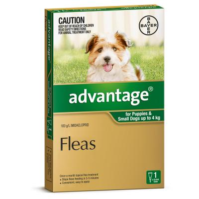Advantage For Dogs Up To 4kg Single Dose
