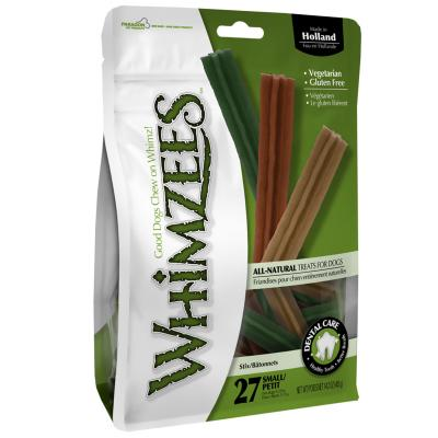 Whimzees Dental Stix Small Treats For Dogs 7 -12kg 24Pack 420gm
