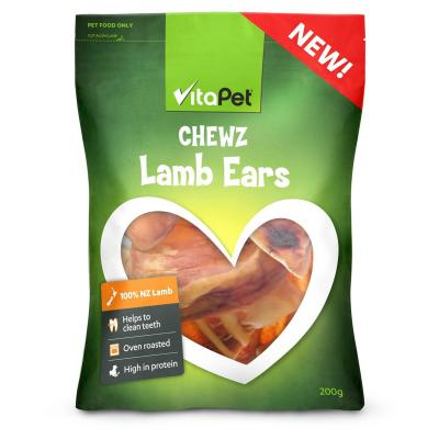 Vitapet Chewz Lamb Ears Treats For Dogs 200gm