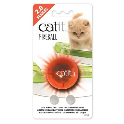 Catit 2.0 Senses Fireball Motion Activated Illuminated Light Up Ball Toy For Cats