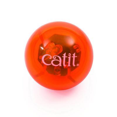 Catit 2.0 Senses Fireball Motion Activated Illuminated Light Up Ball Toy For Cats
