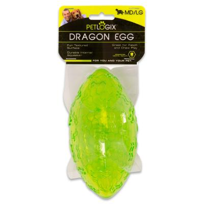 Hyper Petlogix Dragon Egg Medium Large Toy For Dogs