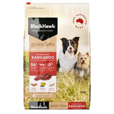 Black Hawk Grain Free Kangaroo Adult Dry Dog Food 15kg
