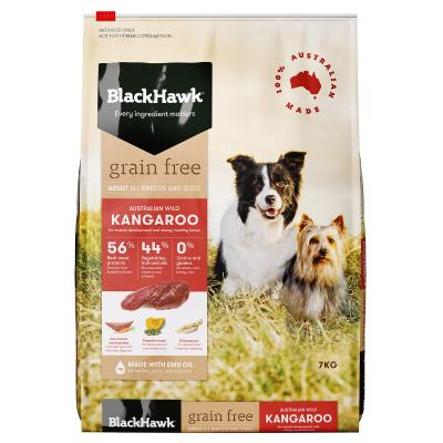 Black Hawk Grain Free Kangaroo Adult Dry Dog Food 7kg