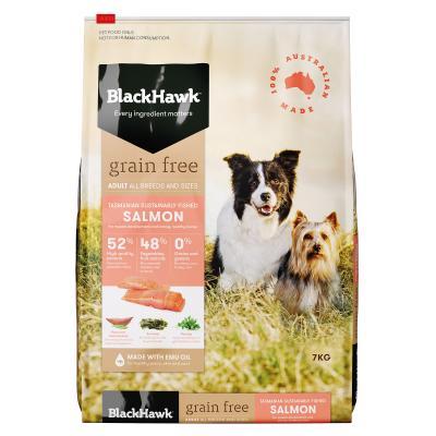 Black Hawk Grain Free Salmon Adult Dry Dog Food 7kg
