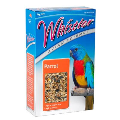 Whistler Avian Science Parrot Seed Mix Food For Birds 2kg