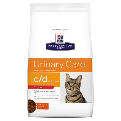 Hills Prescription Diet Feline c/d Urinary Care Multicare Stress Dry Cat Food 5.9kg (3646)