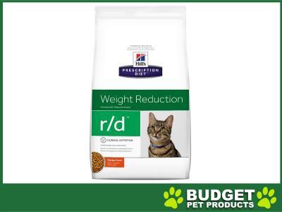 Hills Prescription Diet Feline r/d Dry Cat Food 3.9kg (5898)