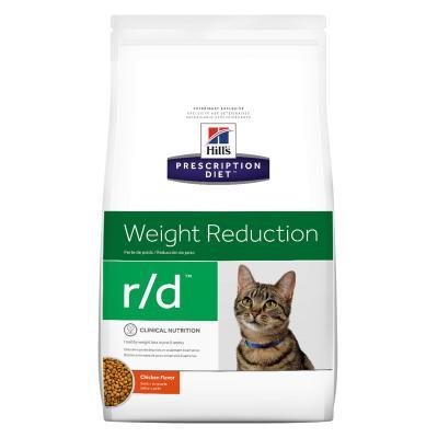 Hills Prescription Diet Feline r/d Weight Reduction Chicken Dry Cat Food 3.9kg (5898)