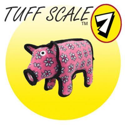 Tuffy JR Barnyard Pig Tough Soft Toy For Dogs