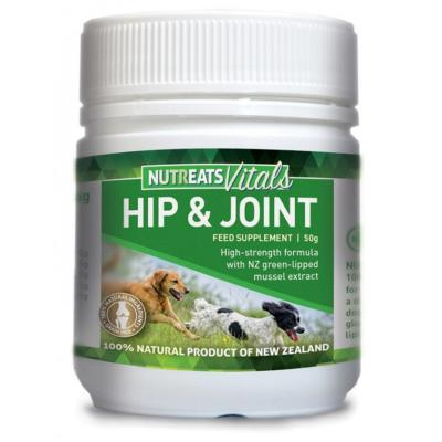 NutrEats Vitals Hip And Joint Supplement Powder For Dogs 50gm