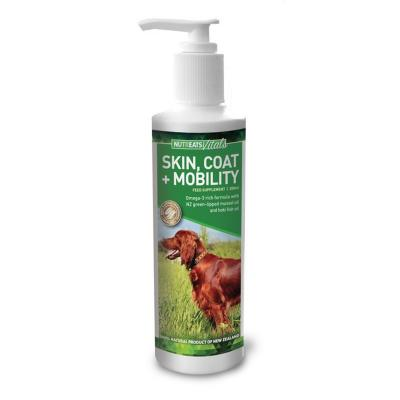 NutrEats Vitals Skin Coat And Mobility Supplement Liquid For Dogs 200ml