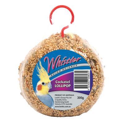 Whistler Avian Science Cockatiel  Lollipop Seed Treat For Birds 300gm