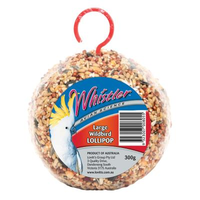 Whistler Avian Science Large Wildbird Seed Lollipop Seed Treat For Birds 300gm