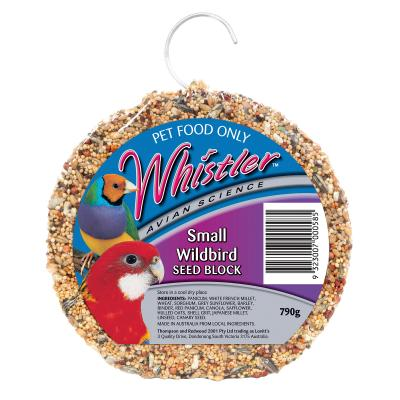 Whistler Avian Science Small Wildbird Seed Block Treat For Birds 790gm