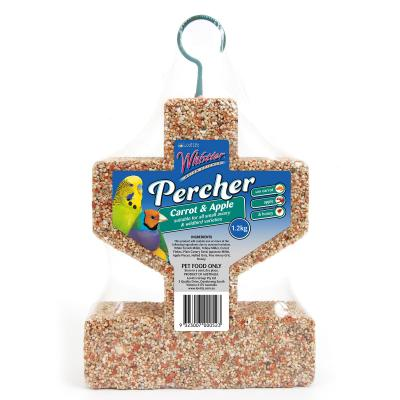 Whistler Avian Science Percher Treat Seed With Carrot And Apple For Birds 1.2kg