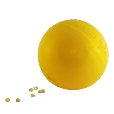 Aussie Dog Tucker Ball Medium Food Dispensing Tough Chase Toy For Dogs