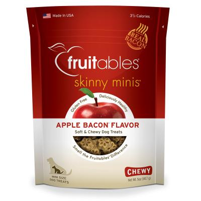 Fruitables Skinny Mini Apple And Bacon Grain Free Soft Baked Treats For Dogs 141gm