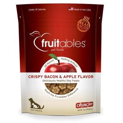 Fruitables Crunchy Crispy Bacon And Apple Cookie Treats For Dogs 198gm