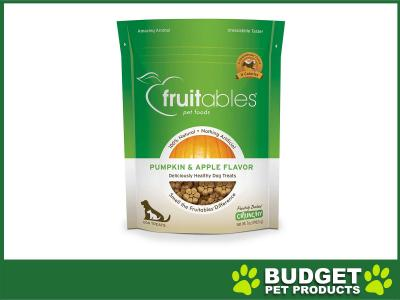 Fruitables Crunchy Pumpkin And Apple Cookie Treats For Dogs 198gm
