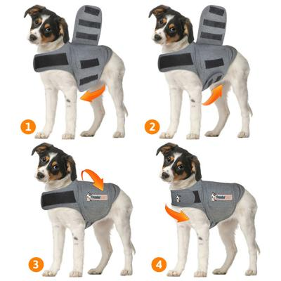 Thundershirt For Dogs Anxiety Grey XXS - Chest 22.8-35cm  up to 3.18kg