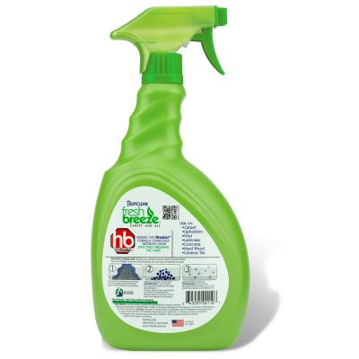 Tropiclean Fresh Breeze Extreme Carpet & All Floors Stain & Odour Remover 946ml