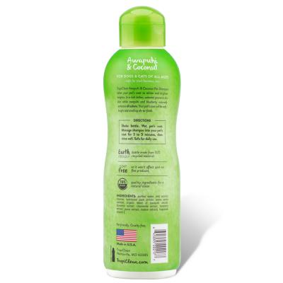 Tropiclean Awapuhi And Coconut Whitening And Brightening Shampoo For Cats And Dogs 355ml