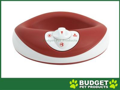 Torus Filtered Water Dispenser Bowl For Cats And Dogs Red 1L