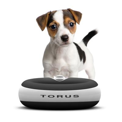 Torus Filtered Water Dispenser Bowl For Cats And Dogs Charcoal 2L