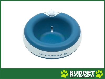 Torus Filtered Water Dispenser Bowl For Cats And Dogs Blue 2L