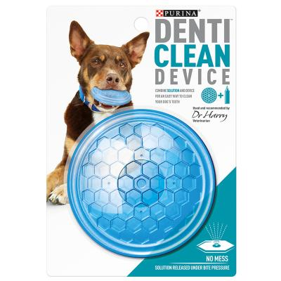 Purina Denti Clean Device For Use With Denti Clean Solution Dental Toy For Dogs