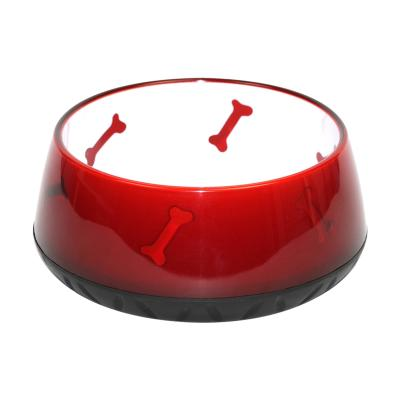 Squirt DelishDish Red Midi Medium Durable Bowl For Cats Dogs Small Animals