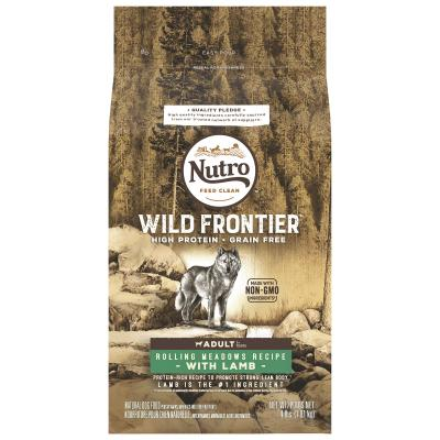 Nutro Wild Frontier Grain Free Lamb Dry Dog Food 1.8kg