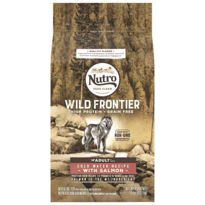 Nutro Wild Frontier Grain Free Salmon Dry Dog Food 1.8kg