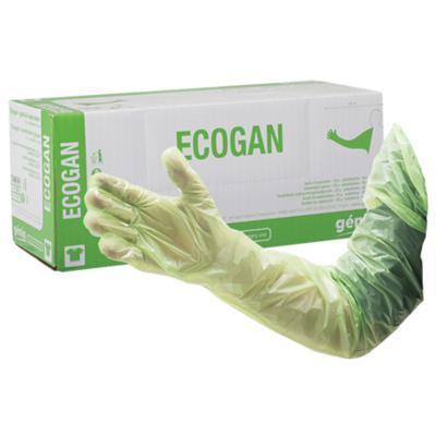 Ecogan Disposable Veterinary Internal Examination Gloves For Livestock 90cm 100 pk