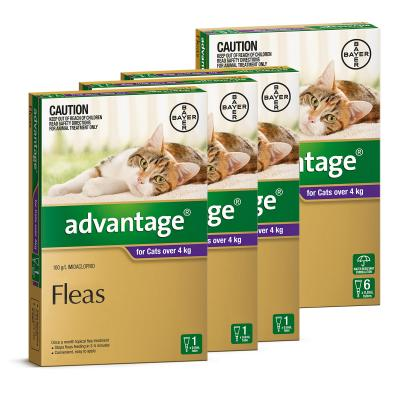 Advantage For Cats Over 4kg 9 pack