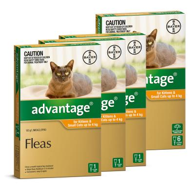 Advantage For Kittens & Small Cats Up To 4kg 9 pack