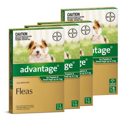 Advantage For Dogs Up To 4kg 9 Pack