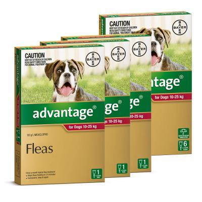 Advantage For Dogs 10-25kg 9 Pack