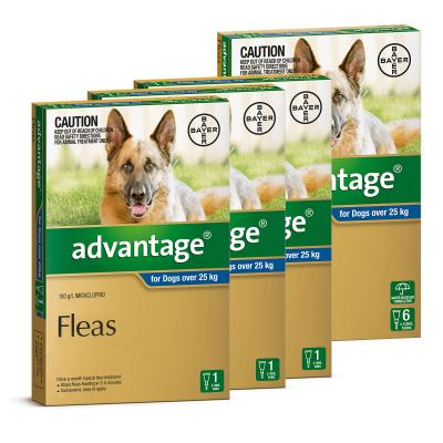 Advantage For Dogs Over 25kg 9 Pack