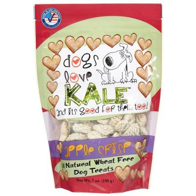 Dogs Love Kale Apple Crisp Gluten And Wheat Free Treats For Dogs 170gm