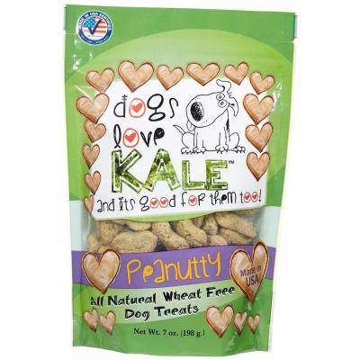 Dogs Love Kale Peanutty Gluten And Wheat Free Treats For Dogs 170gm