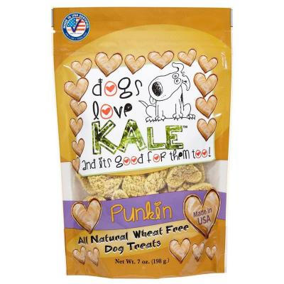 Dogs Love Kale Punkin' Gluten And Wheat Free Treats For Dogs 170gm