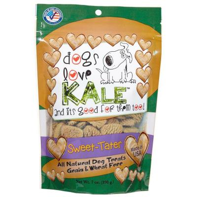 Dogs Love Kale Sweet Tater Gluten Grain And Wheat Free Treats For Dogs 170gm