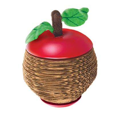 KONG Cat Scratcher Apple With Catnip Toy For Cats